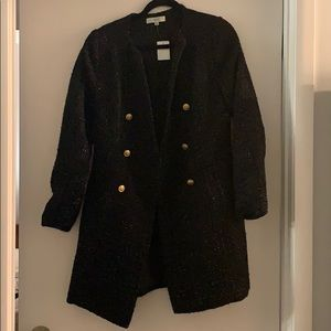 Tweed jacket - new with tags